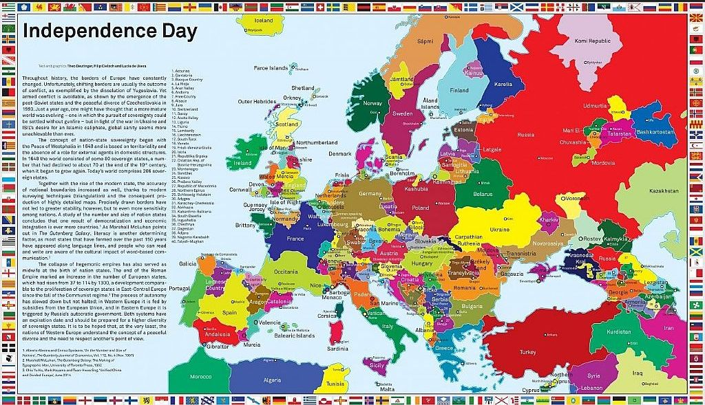Референдум в Каталонии: что будет с Испанией, ЕС и евро