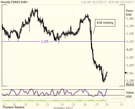 Евро закономерно отправился на юг
